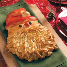 golden santa bread recipe taste of home