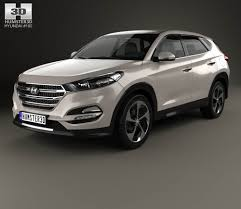 hyundai tucson 2016 hyundai tucson with hq interior 2016 3d model hum3d