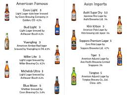 is coors light a rice beer check out muta s beer selection korean muta bbq karaoke
