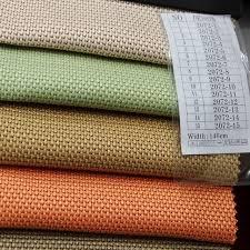 tissus pour canapé 1 46 metros large 15 couleurs plaid imprimé chanvre canapé tissu