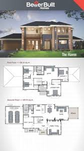 Double Storey House Floor Plans The Waterbrook Double Storey House Design 265 Sq M U2013 12 09m X