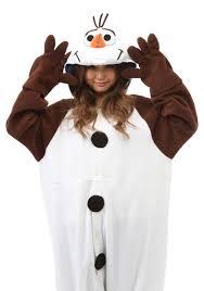 Olaf Pajama Costume