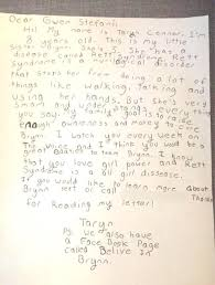 old writing paper template 8 year old girl pens letter to gwen stefani asking her to give 8 year old girl pens letter to gwen stefani asking her to give little sister s rare disease a voice
