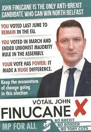 Westminster Council Tax Leaflet Leaflet From Finucane Fein Belfast 2017