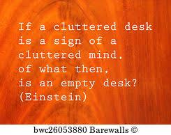 Einstein Cluttered Desk 2 458 Einstein Posters And Art Prints Barewalls
