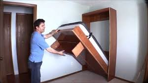Queen Murphy Bed Kit With Desk How I Built My Wall Bed Quickly And Easily With Easy Diy Murphy