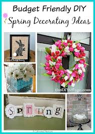 diy spring decorating ideas 10 adorable diy dollar store spring crafts a cultivated nest