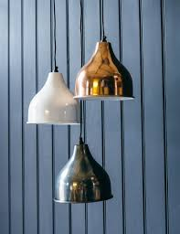 gold pendant light fixture gold white and nickel pendant light