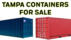 shipping containers for sale tampa watch this before you buy