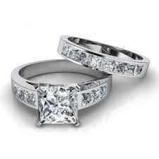 Engagement And Wedding Ring Sets by Wedding Rings Wedding Band And Engagement Ring Sets Diamond