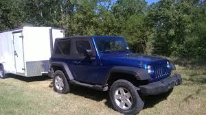 jeep trailer for sale jeep wrangler cargo trailer camper toy hauler youtube