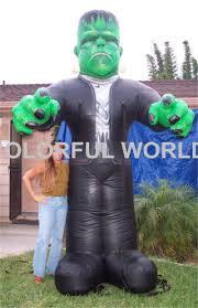 online shop 2015 inflatable halloween decoration frankenstein