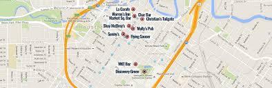 Downtown Houston Map Group Tours Houston Houston Bike Bar