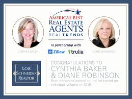 cynthia baker and diane robinson real trends 2017