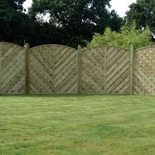 Curved Trellis Fence Panels Arched U0026 Curved Fence Panels Uk Wooden Supplies
