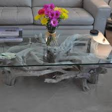 Glass Coffee Table Decor Best 25 Driftwood Table Ideas On Pinterest Driftwood Art