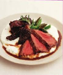 Tom Colicchio Short Ribs Duo Of Beef With Kobe Strip Loin And Braised Kobe Short Ribs With