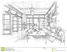 popular interior architecture sketches with interior architecture