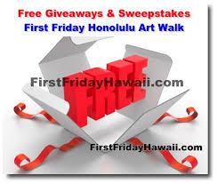 friday honolulu walk free giveaways sweepstakes and