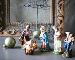 nativity figurine etsy