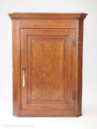 oak corner kitchen wall cabinet georgian oak corner cupboard hanging wall cabinet