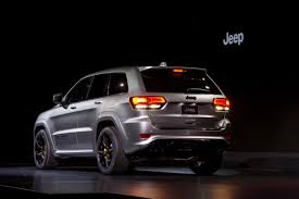 first jeep grand cherokee 2018 jeep grand cherokee trackhawk review first impressions and