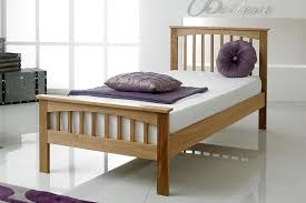Oak Bed Frame Heywood Solid Oak Bed Frame 3ft Single The Oak Bed Store