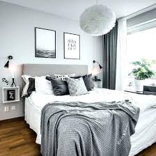 gray walls white curtains blue grey and white bedroom xecc co