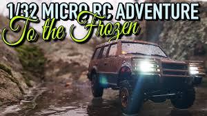 vaterra ascender jeep comanche pro 1 32 micro rc adventure pajero oh32a02 to the frozen youtube