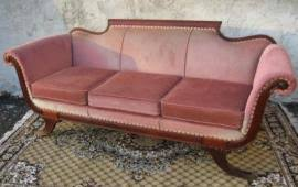 Duncan Phyfe Sofa by Ship My Beautiful Antique Solid Mahogany Duncan Phyfe Sofa To Orlando