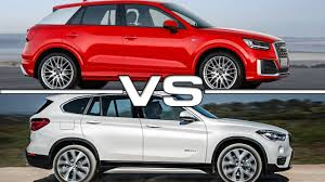 bmw x1 vs audi q3 audi q2 vs bmw x1 road test youtube