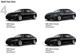 bmw build your car it s to build your bmw 4 series