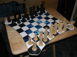 Diy Chess Set by Magnetic Wall Chess With Custom Board 9 Steps With Pictures