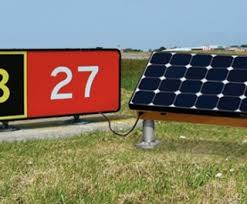 Solar Powered Runway Lights by Carmanah U0027s Solar Led Runway Guard Light System Supplied By