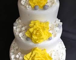 luau flower cake topper 15pcs hawaiian wedding cake topper