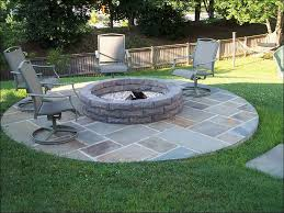 backyard sitting with gas fire pit home furniture