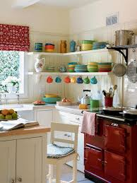 kitchen white kitchen ideas nice colorful dishware wall nice