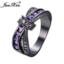 aliexpress buy junxin new arrival black aliexpress buy junxin purple cross ring fashion white