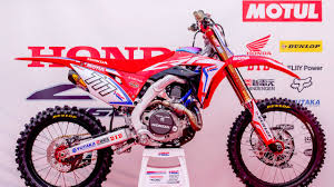 cyber monday motocross gear introducing team honda hrc 2017 motocross mtb news bto sports