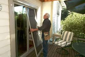 Pella Retractable Screen Door Door Patio Screen Door Repair Authentic Retractable Window