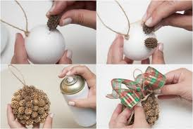 tree ornaments 4 ideas with styrofoam balls
