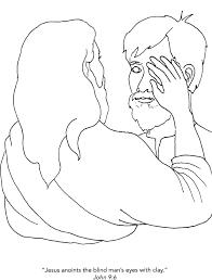 Jesus Healed The Blind Man Higher Praise Children U0027s Bible Lessons Lesson 205