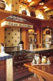 Mexican Tile And Mural Used Around A Fireplace Mexican Home Decor - Mexican home decor ideas