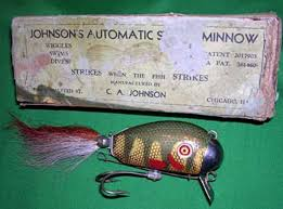 collectible fishing lures rare mechanical and spring loaded baits