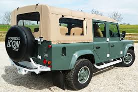 land rover defender 110 convertible soft top defenders