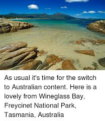 as usual it s time for the switch to australian content here is a