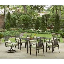 6 Piece Patio Set by Better Homes And Gardens Bramblewood 7 Piece Patio Dining Set