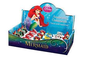 disney s mermaid aquarium decorations resin ornaments 6 pc