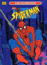 spiderfan org comics spider man color activity golden books