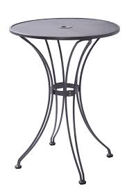 30 round bar table outdoor butterfly bar table with 30 round steel mesh top bar